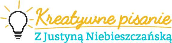 Logo Kreatywne pisanie z Justyną Niebieszczańską
